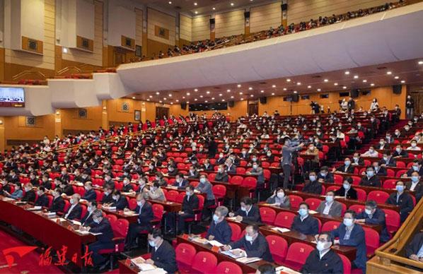党史学习教育中央宣讲团宣讲报告会在福州举行